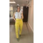 Calça Alfaiataria kar Amarela