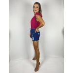 Shorts Jeans Jeans Escuro