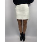 Shorts Saia Bolso Faca Branco