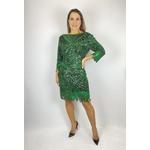 Vestido Decote Nas Costas Verde