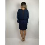 Vestido Blusado Azul Marinho