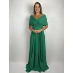 Vestido Crepe Verde