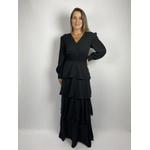 Vestido Camadas Preto