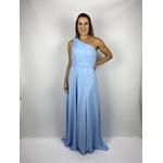 Vestido Grego Azul Bebe