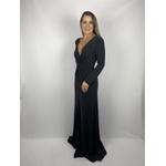 Vestido Jersey Preto