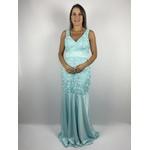 Vestido Premium Guiper Azul Bebe