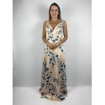 Vestido Floral Ana Bege