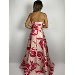 Vestido Floral Artsy Rose Com Pink