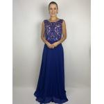 Vestido Longo Prins Azul Royal