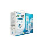 Kit Mamadeiras Avent Anti-Colic 125 ml, 260 ml e 330 ml - Transparente