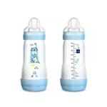 Kit Mamadeira Easy Start First Bottle Boy Mam 320Ml - Azul