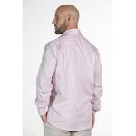 Camisa Rosa Social Manga Longa Masculina Lorenzo