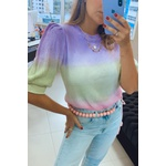 Blusa Tricot Colorful