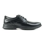 Sapato Social Pipper em Couro Pelica Preto