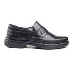 Sapato Social Pipper em couro Mestiço Preto