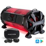 Caixa De Som Bazuka Xb650 Polyvox 200w + Fone Intra-auricular TWS Bluetooth Polyvox