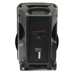 Caixa De Som Amplificada Xc-515 Polyvox Bluetooth Usb 500w + Microfone sem Fio Polyvox