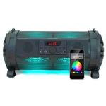 Caixa De Som Amplificada Bazuka Xb-650 Bluetooth 200w De Potência, Woofer De 6