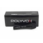 4 Microfones Dinâmicos Profissionais Preto com Fio Polyvox