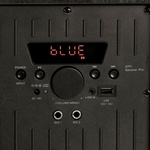 Caixa De Som Amplificada Bluetooth Xc-518 Polyvox com 1200W de Potência +Microfone sem Fio Polyvox