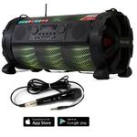 Caixa de som Amplificada Bluetooth Bazuka XB860 Polyvox 480w+ Microfone com fio