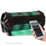 Caixa de Som Amplificada Bluetooth Bazuka XB860 Polyvox 480w+ Par de Microfones sem fio Polyvox