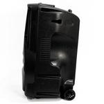 Caixa Amplificada Bluetooth Portátil Xc-518 Polyvox Potência 1200w Woofer 18