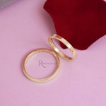 Aliança de Ouro 18k 2mm 5 gramas Modelo Merida