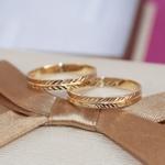 Aliança de Ouro 18k 3mm 3 gramas Reta Modelo Olimpo