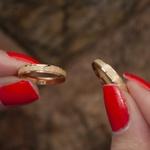 Aliança de Ouro 18k 3mm 3 gramas Reta Modelo Fiora