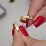 Aliança de Ouro 18k 4mm 4 gramas Chanfrada Modelo Lucy