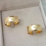 Aliança de ouro 18k 8mm 10 gramas com Diamante Modelo Gold