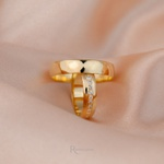 Alianças de Ouro 18K 5mm 5 gramas Modelo Afrodite