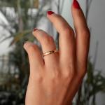 Alianças Ouro 18k 3mm 5 gramas Modelo Escamas