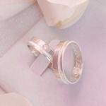 Aliança de Compromisso 5mm prata 950 Modelo Focus