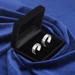 Aliança de Compromisso 6mm 10 gramas Prata 950 Modelo HeartBeat