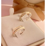 Aliança de Ouro 18k Bodas De Prata 5mm 9 gramas Casamento