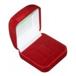 Aliança Compromisso Prata 950 6mm Modelo Heartbeat Red