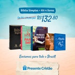 KIT Bíblia + livros