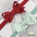 Kit Faixa para bebê Duplo Boutique Verde