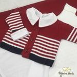 Saída De Maternidade Francisco Vermelha