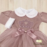 Vestido de Tricot Princesa Rose