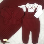 Saída De Maternidade Duda Vermelho