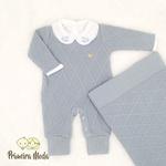 Saída De Maternidade Luan Azul Bebê