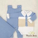 Saída De Maternidade José Azul Bebê