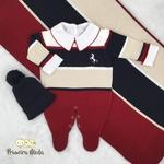 Saída De Maternidade Cavalinho Vermelho