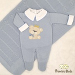 Saída De Maternidade Ursinho Azul Bebê
