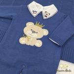 Saída De Maternidade Ursinho Azul