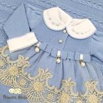 Saída De Maternidade Alicia Azul