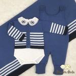Saída De Maternidade Francisco Azul